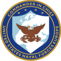 Commander In Chief U.S. Naval Forces Europe Decal