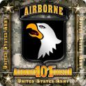 101st Airborne Division 4 Inch Coasters 6 Pack