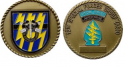 12th Special Forces Group Challenge Coin with Engraving