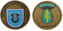 19th Group Special Forces Challenge Coin.