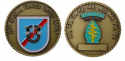 20th Special Forces Group Challenge Coin with Engraving