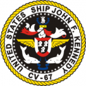 CV-67 USS John F. Kennedy Decal