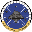 CVN-69 USS Dwight D. Eisenhower Decal