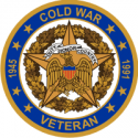 Cold War Veteran Decal