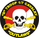 D Co. 1/7 Cavalry Decal
