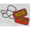 MARINE WIFE DECAL