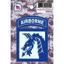 18th Airborne Division 4 Color Process Decal