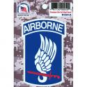 173rd Airborne Division 4 Color Process Decal