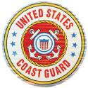 "US Coast Guard 12"" Prism Decal"