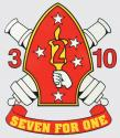 Seven for One Marine Decal