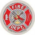 Fire VFD Decal