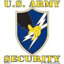 Army Security Agency Decal
