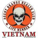 Agent Orange Health Club Decal
