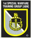 1st. Special Warfare Training Group Decal (Sm)