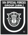 Special Forces 5th Group (Current) Decal