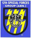 Special Forces 12th Group Decal