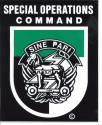 Special Operations Command Sine Pari Decal