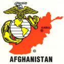 USMC Afghanistan Decal