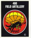 Army 460th Parachute Artillery Airborne Decal