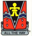 Army 509th ABN (Crest) Airborne Decal
