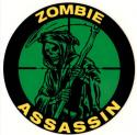 Zombie Assassin Sniper Decal