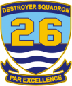 DESRON 26  Decal