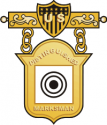 Distinguished Marksman Badge Decal