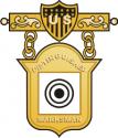 Distinguished Marksman Badge Decal