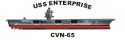 Enterprise Class Aircraft Carrier USS Enterprise (CVN-65)
