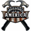 BUILDING AMERICA CARPENTER All Metal Sign