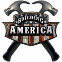 BUILDING AMERICA CARPENTER All Metal Sign