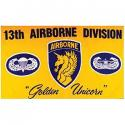 13th Airborne Flag