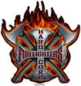 HARD CORE FIREFIGHTER DECAL