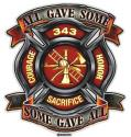 RESCUE HONOR BADGE DECAL