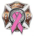 FIREFIGHTER RACE FOR A CURE DECAL