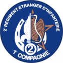 French Foreign Legion - 3 Decal