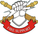 Fire Support Decal