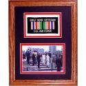 Air Force Gulf War Solid Oak Framed Presentation