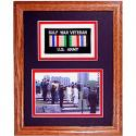 Army Gulf War Solid Oak Framed Presentation