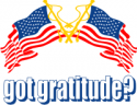 Got Gratitude Flags Decals