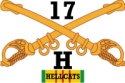 H-17 Cavalry Hellcats Decal