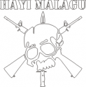 Hayi Malagu (Who Wants to Fight?)  Decal