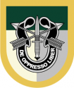 JFK Special Forces Group Decal