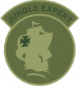 Jungle Expert - Camo  Decal