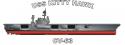 USS Kitty Hawk (CVA-63) Decal