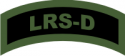 LRS-D Tab (Green/Black)  Decal