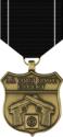 Coast Guard Expert Pistol Medal Decal