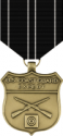 Coast Guard Expert Rifle Medal Decal