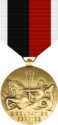 WWII Occupation Service Medal - Navy & USMC Decal