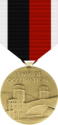 WWII Army of Occupation Medal Decal